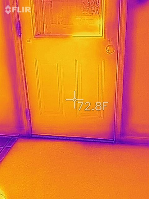 Door Leaking Air
